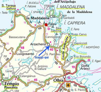 WHERE ARE WE LOCALITY - SARDINIA COSTA SMERALDA EMERALD ...